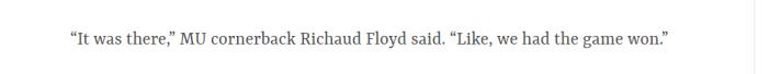 mizzou st louis dispatch Floyd quote